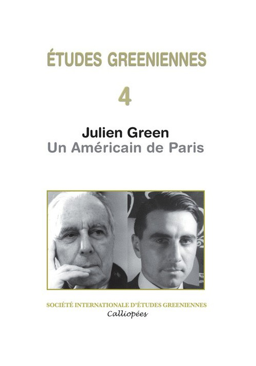 Julien Green Un Américain de Paris